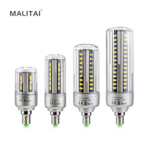 1X Constant Current No Flicker 85V-265V LED Corn lamp E14 5W 7W 9W 12W 15W 18W 20W SMD 5736 100LM/W Aluminum LED Spot light Bulb