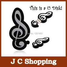 Promotion! Music Symbol model 4G 8GB 16GB cartoon usb flash drive personalized gift U Disk Flash memory stick pen drive