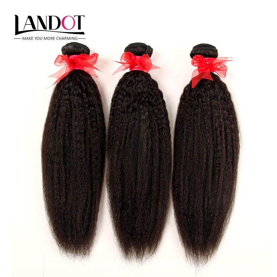 Brazilian Virgin Hair Kinky Straight 3 Pcs Brazilian Hair Weave Bundles Yaki Straight Remy Hair Mink Brazilian Hair Extensions<br><br>Aliexpress