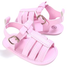Baby Girls Boys Fashion Summer Infant Breathable PU Hollow Out Anti-slip Flip Flop Newborn Princess Shoes Sandal 0-18M