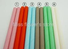 Wholesale 150 Pcs All 6 Kinds Colorful Solid Color Drinking Straws Paper Straws For Party Birthday Wedding Decoration