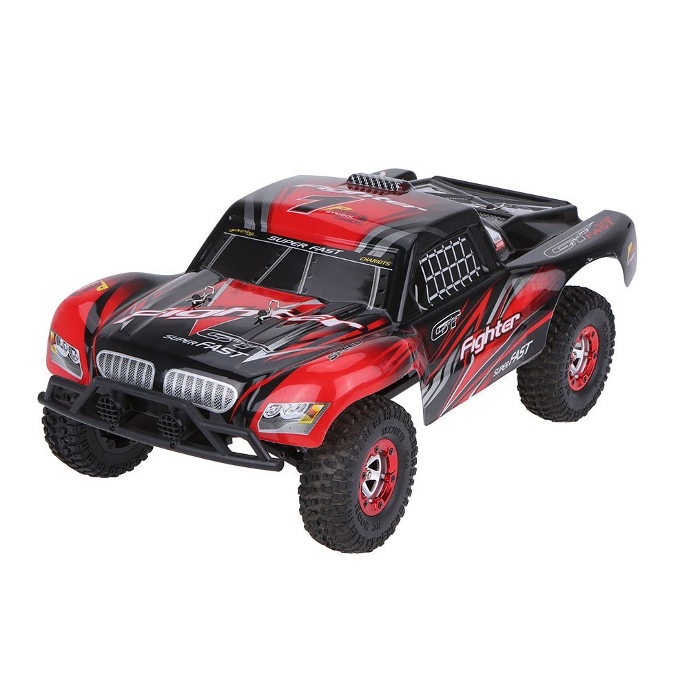 FY01 Rc Car 4WD Electric Power 1/12 2.4G  Desert Off Road Short-Course Truck Remote Control Car 4 Channels RC Car For Kids<br><br>Aliexpress