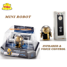 RC Robot Toys best Christmas gift New remote control & sound control robot mini intelligent infrared control robot
