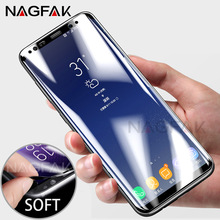 NAGFAK 3D Curved Soft Screen Protector For Samsung Galaxy S7 Edge S8 S6 Protective Film For Samsung S8 S8 Plus S7 S6 (Not Glass)(China)