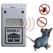 ultrasonic pest repeller control Riddex Plus Electronic Pest Rodent mosquito Control Repeller plug pest repelling aid repellen