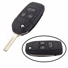 3 Button Remote Key Fob Case Shell Filp Uncut Blade for VOLVO S40 V40 S70 C70 V70 S80