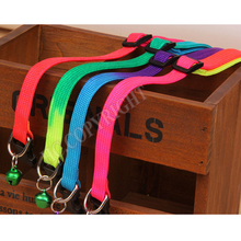 1 PC Rainbow Color Pet Small Dog Puppy Puppy Cat Collar Leash Soft Walking Harness Lead Perro mascota Aprovechar