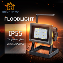 BRIGHTINWD IP55 LED Rechargeable Lantern Outdoor Spotlight LED Camping Light LED Spotlight Flash LED Floodlight