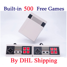5-120 pcs Mini TV Game Console 8 Bit Video Game Built In 500 Classic Games Handheld Games Consoles Mini Support PAL & NTSC(China)
