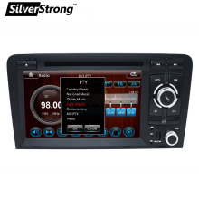 "FreeShipping 2Din 7"" Car DVD GPS for Audi A3 2003-2011 2008 A3 Car Multimedia Stere DVD Car Radio Navigation S3 2 DIN DVD A3 car(Hong Kong)"