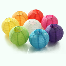 20Pcs/lot Chinese Paper Lantern 6 '' (15cm), Round Lamp, Wedding Decoration Glim, Festival Birthday Party Home Decoration(China)