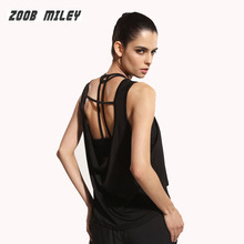 Buy Women Sports Shirts Yoga Workout Tops Sleeveless Loose Vest Women Fitness Gym Running Tees Training Exercise Singlets Clothing for $11.80 in AliExpress store