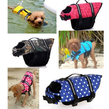 Pet Dog Life Jacket Safety Clothes for Dogs Puppy Life Vest Outward Saver Swimming Preserver Large Dog Clothes Summer Swimwear