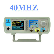 JDS6600 Series 40MHZ Digital Control Signal Generator Dual-channel DDS Function  Arbitrary sine Waveform frequency meter 26%off