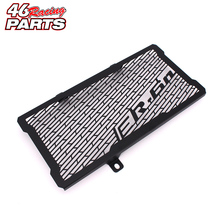 Black Motorcycle Accessories Radiator Guard Protector Grille Grill Cover For Kawasaki Ninja ER6N ER-6N 2012 2013 2014 2015 2016(China)