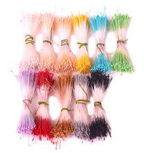CCINEE Less Than 1mm ECO-Friendly Pointed Artificial Flower Floral Matte Stamen Used For Artificial Flower Accessories