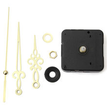 SZS Hot Gold Hands Black DIY Quartz Clock Movement(China)
