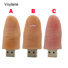 Silicone Finger 4GB 8GB 16GB 32GB 64GB USB Flash Drive, Pen Drives, Disk, Memory Stick, Usb Key, U disk 2.0 Thumb Card u disk