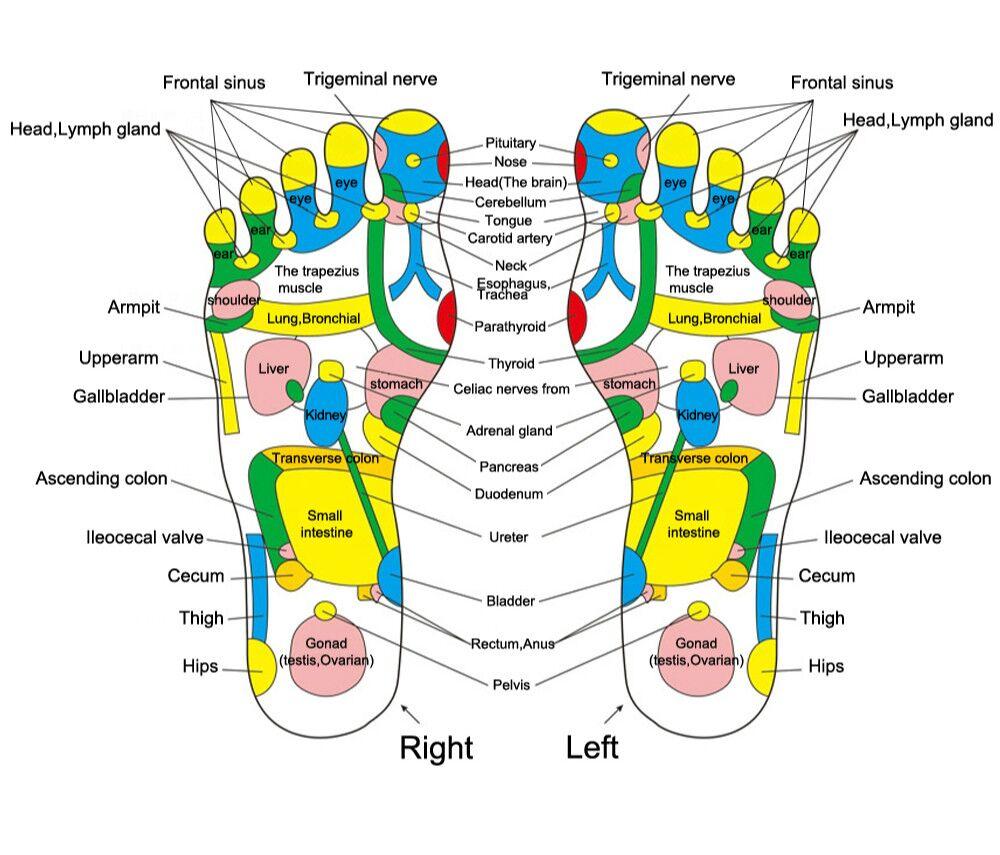 Akupunktuuri matt jalgadele
