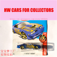 New Arrivals 2017 Hot Wheels 1:64 77 Pontiac Firebird Metal Diecast Cars Collection Kids Toys Vehicle For Children Models(China)