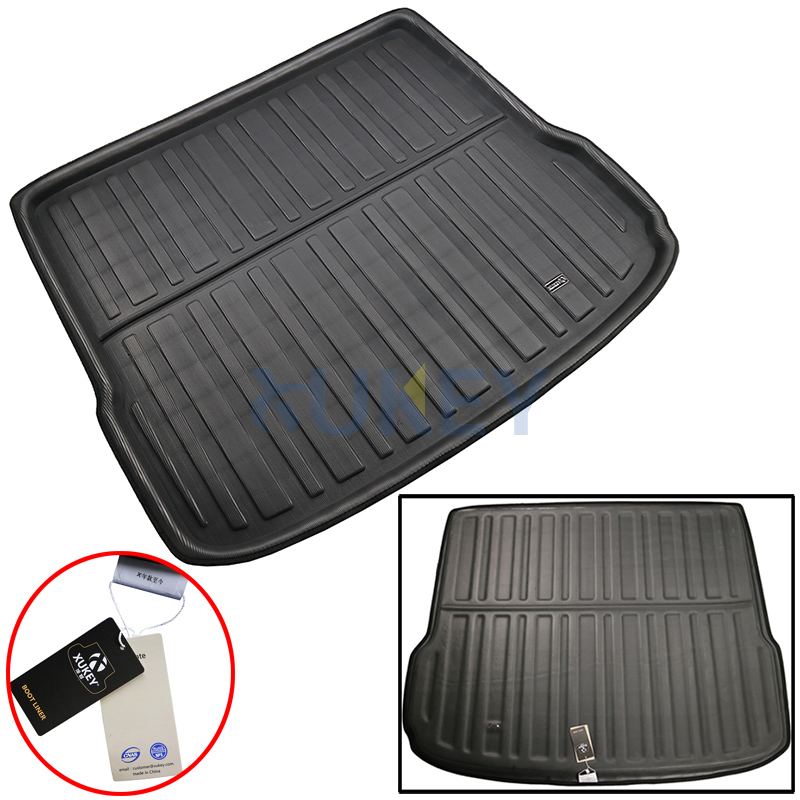 MP Essentials Black Durable Boot Liner Mat Tray for VW Touareg 2010