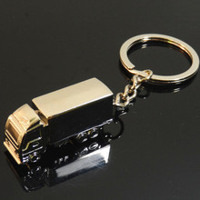 Container truck van Keychain key ring model car advertising gifts custom