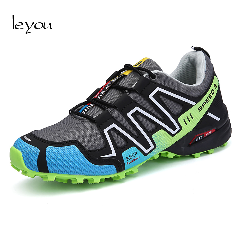 Leyou Men Trainers Shoe Casual Mountain Shoes Man ...