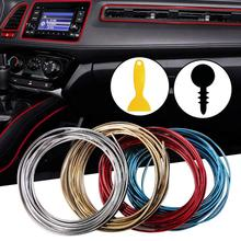 5M Car Door Dashboard Air Outlet Steering-wheel Styling Interior Decoration Line Strips car-styling Without Stickers Accessories(China)