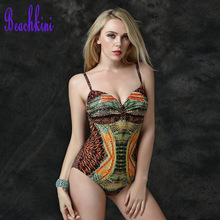2017 Sexy swimwears bodysuit women one piece romantic MONOKINI swimsuit beach bathing suit(China)