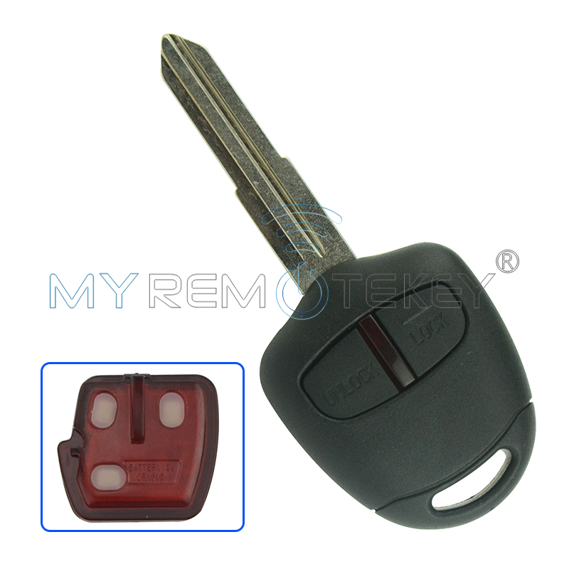 New style 2 Button remote key MIT8L 434mhz 4D61 chip for Mitsubishi car key remtekey(China)