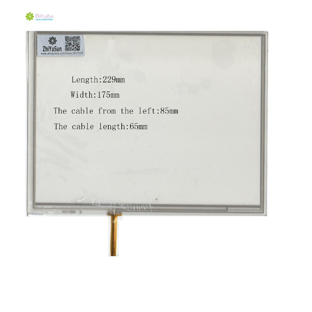 ZhiYuSun KDT-5886 229mm*175mm 4lines NEW touch screen panel TOUCH glass sensor 229*175 This is compatible<br>