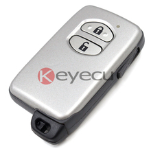 BRAND NEW Replacement Shell Keyless Entry Smart Remote Key Case Fob 2BTN For TOYOTA Camry Crown Highlander Prado With Blade