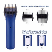 2018 Recharge Professional dog electric hair clippers trimmers animal pet shaver cutting haircut machine scissors EU/US/UK(China)