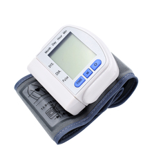 Free shipping Wrist Tonometer Pulse Rate Monitor Wrist Blood Pressure Monitors medidor de pressao arterial(China)