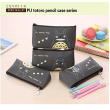 pen box pouch bag bags school canvas Korea cute cheap art supplies stationery totoro pencil vintage stationery students anime