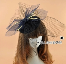 Tulle Wedding Hats And Fascinators Bow Bridal Hat Cheap Modest Wedding Hat With Veil New Arrive Hot Sale Luxury Hat