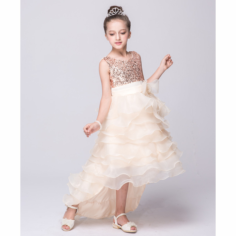 2017 New fashion Dress for Girl Princess Party dress for Baby Girl sleeveless Dress for 3 4 5 67 8 9 10 11 12 years<br><br>Aliexpress