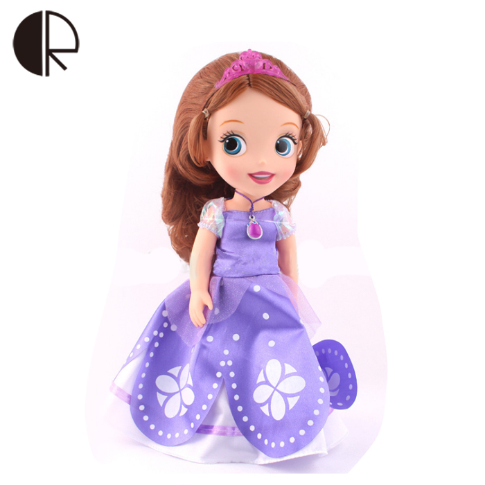 Christmas brinquedos meninas princess sofia dolls hot sale bonecav 30CM length with box princesa sofia gift for girls HT2551<br><br>Aliexpress
