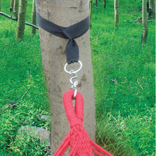 JETTING Outdoor Camping Hiking Hammock Hanging Belt Can Hold 200kg Hammock Strap Rope with 2 Metal Buckle Load Bind Rope