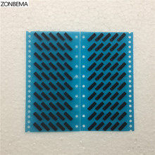 ZONBEMA 10pcs/lot New Ear Earpiece Speaker Anti Dust-Proof Grill Mesh Net With Rubber Gasket Adhesive Glue For iPhone 5 5S 5C SE