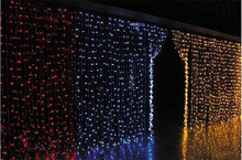 6*3 M LED curtain lights with 800 leds ,led net lights ,wedding and holiday led string CL-008