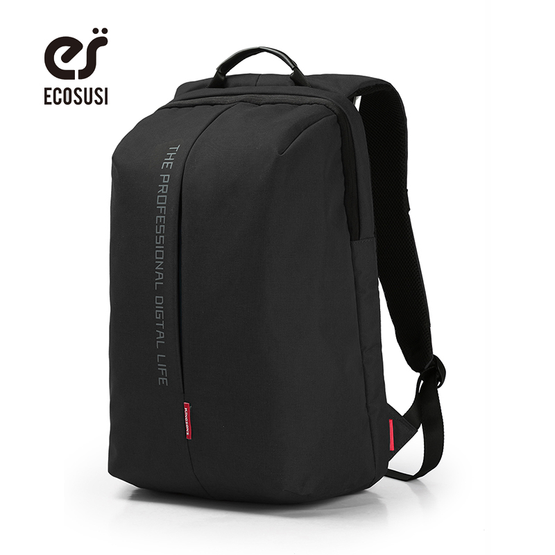 ecosusi 2017 Fashion Lightweight Men/Women Business Backpack Brand Computer Backpack for Teenagers Daypack for Laptop Notebook<br><br>Aliexpress