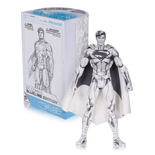 Superman Line Drawing Ver. Action Figure 1/8 scale painted figure Blueline Edition Superman Doll PVC figure Toy Brinquedos Anime