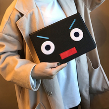 For Ipad Case Ipad Air 1 Ipad 5 Case Tablet PC PU Leather Smart Sleep Wake Up Folio Flip Stand Holder Monster Pattern Shockproof(China)