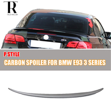 E93 Carbon Fiber Rear Spoiler for BMW E93 Convertible 3 Series 2005 - 2011 Auto Racing Car Styling Tail Trunk Lid Boot Lip Wing