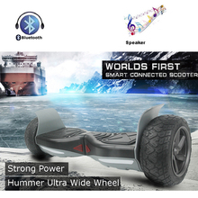 Strong Power Hummer Ultra Wide 2 Wheel Self Balancing Scooters Smart Balance Electric Scooter Men Hover Board UL Hoverboard