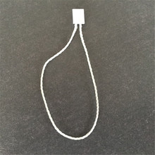 White Hang Tag String/ Cords/ Seal Tag for Clothing