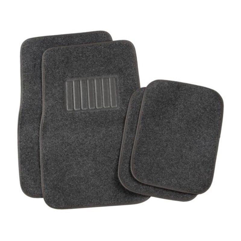 Горячие sale4pcs Автомобильные циновки Темно-серые 68cmx44 см