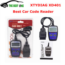 Original XTYDIAG XD401 OBD2 Scanner Code Reader OBDII Car Diagnostic Tool Support All OBD II Protocols Free Shipping(China)