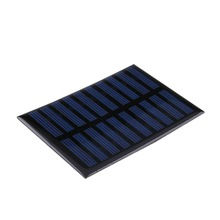 High quality 5V 0.8W Epoxy Solar Panels Mini Solar Cells Polycrystalline Silicon Solar DIY Solar Module 100x70mm